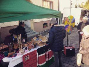 Riesiger Erfolg beim Glcksradstand auf dem Borgholzhausener Weihnachtsmarkt
