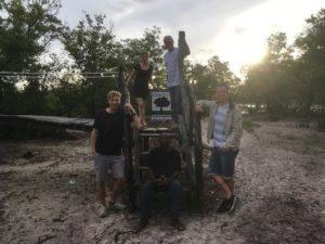 Bretterweg durch die Mangroven wieder begehbar!!