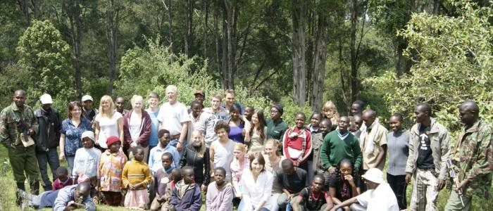Das Team der Baumplanzaktion