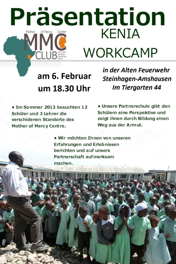 Präsentation des Kenia Workcamps 2013